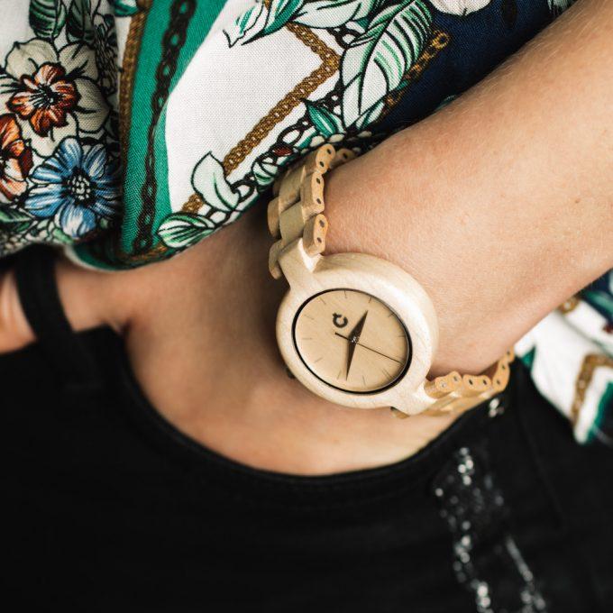 Plantwear wooden watch