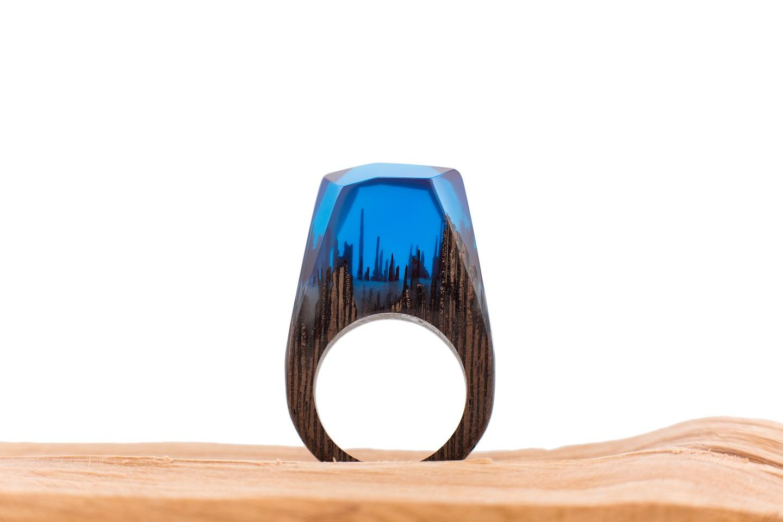 Pierscionek Blue Fog 1