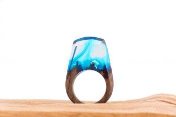 Pierscionek Blue Wave 1