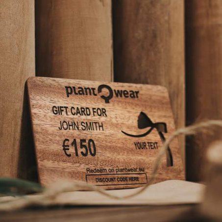 gift card plantwear
