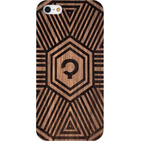 Wooden-case-Iphone-5-Geometrical-Walnut