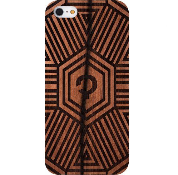 Wooden-case-iPhone-5-Apple Tree-Geometrical
