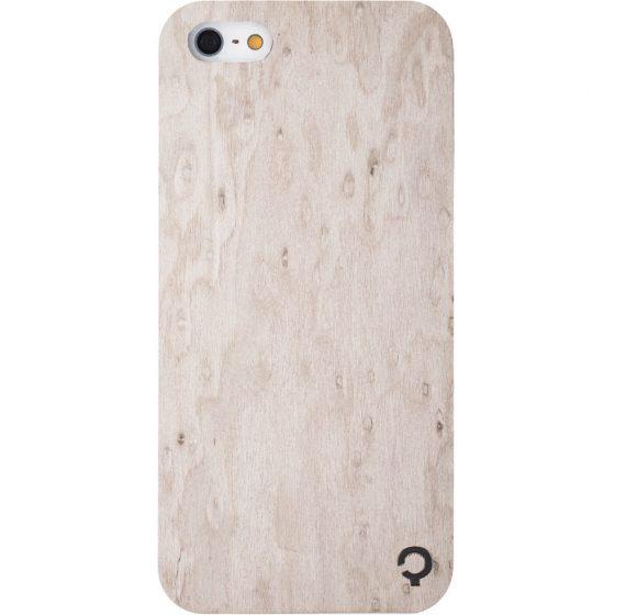 Wooden-case-iPhone-5-Premium-Silver