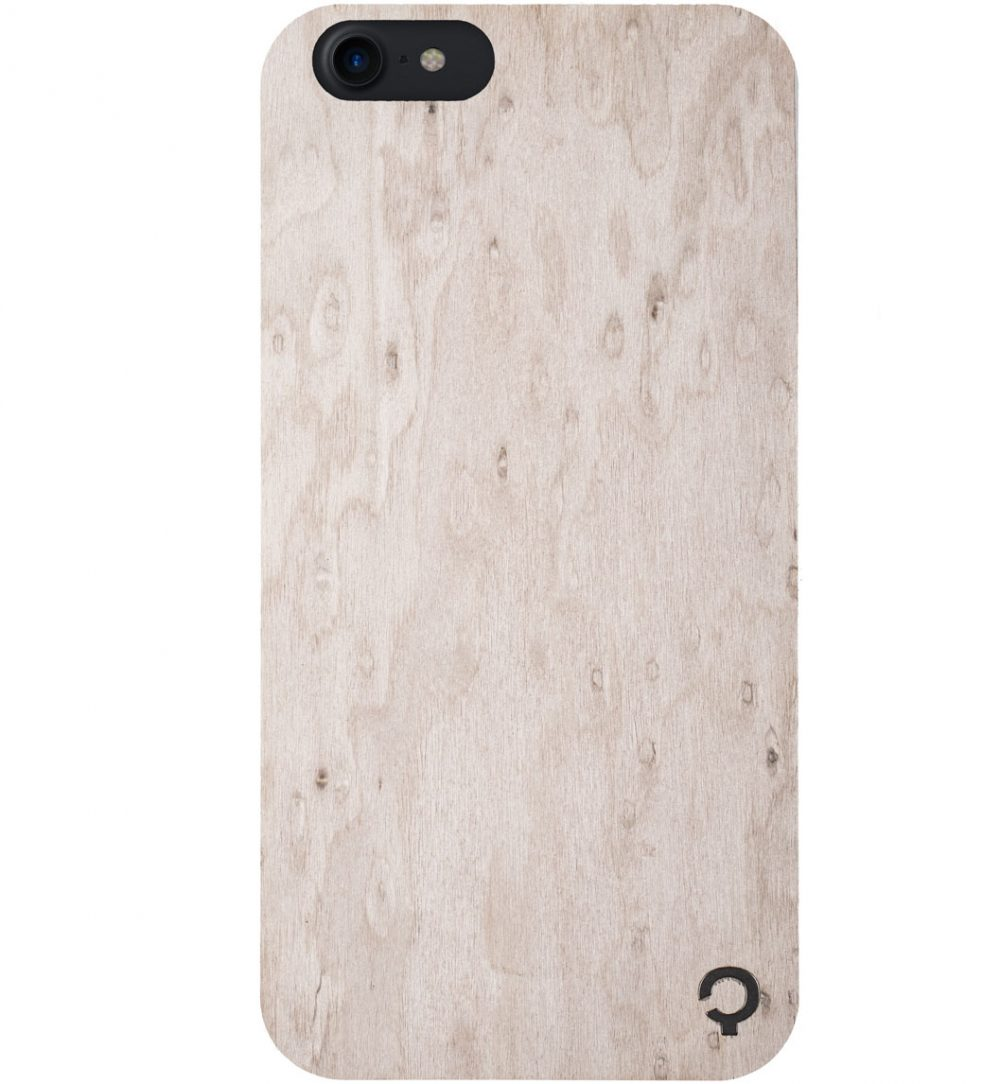 Wooden-case-iPhone7-Premium-Silver
