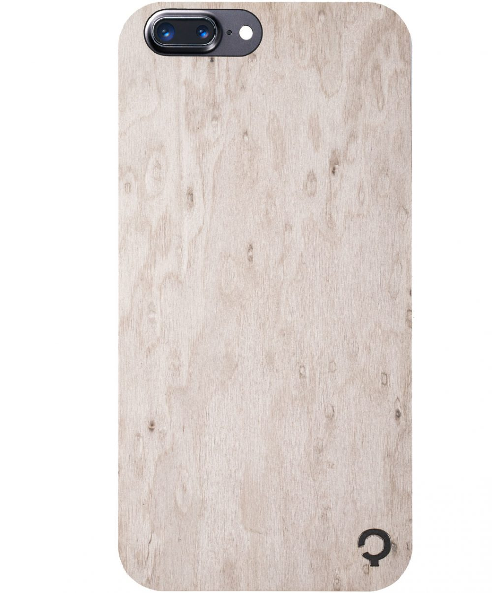 Wooden-case-iphone-7-plus-Premium-Silver