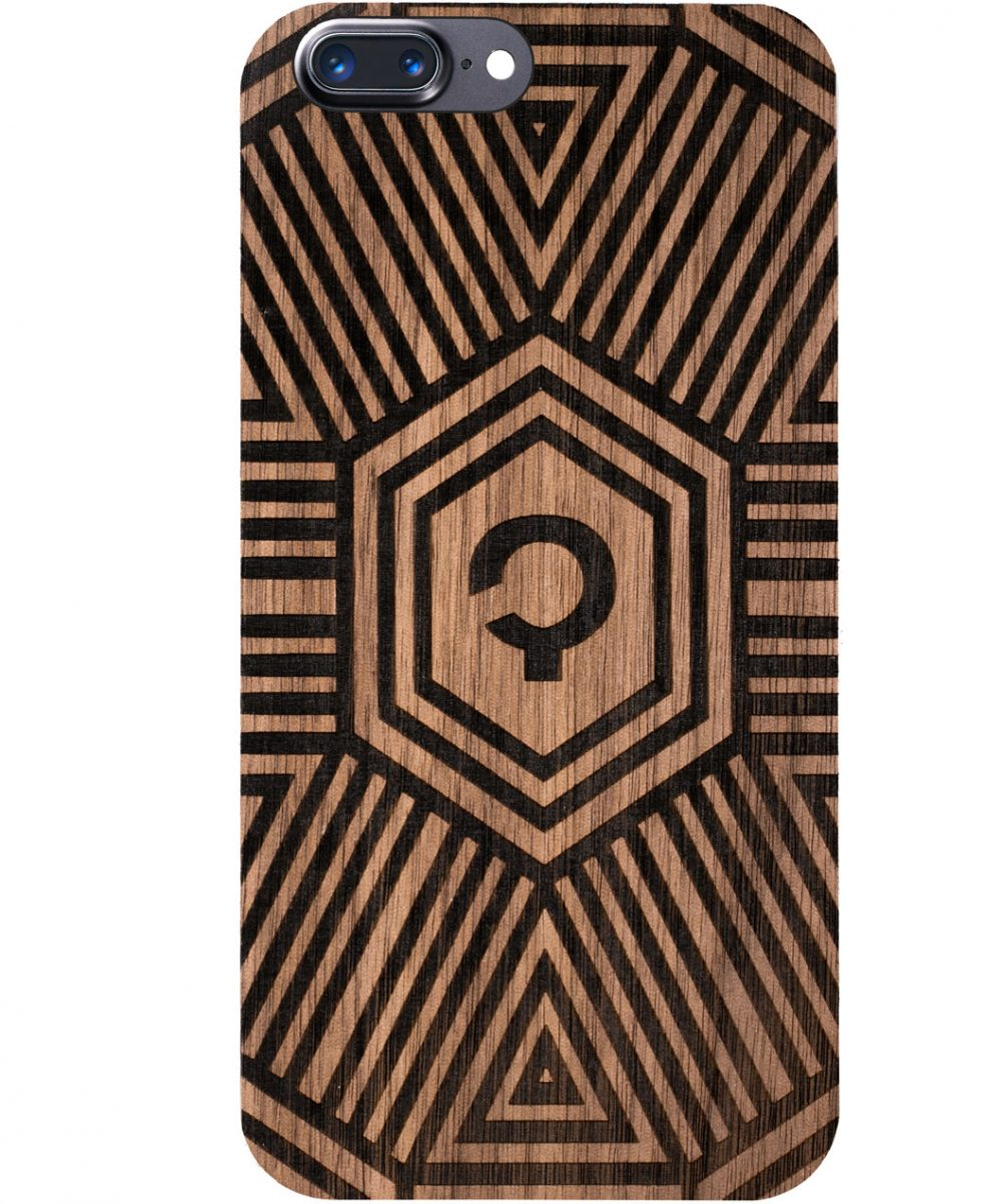 Wooden-case-iphone-7-plus-orzech-Geometrical
