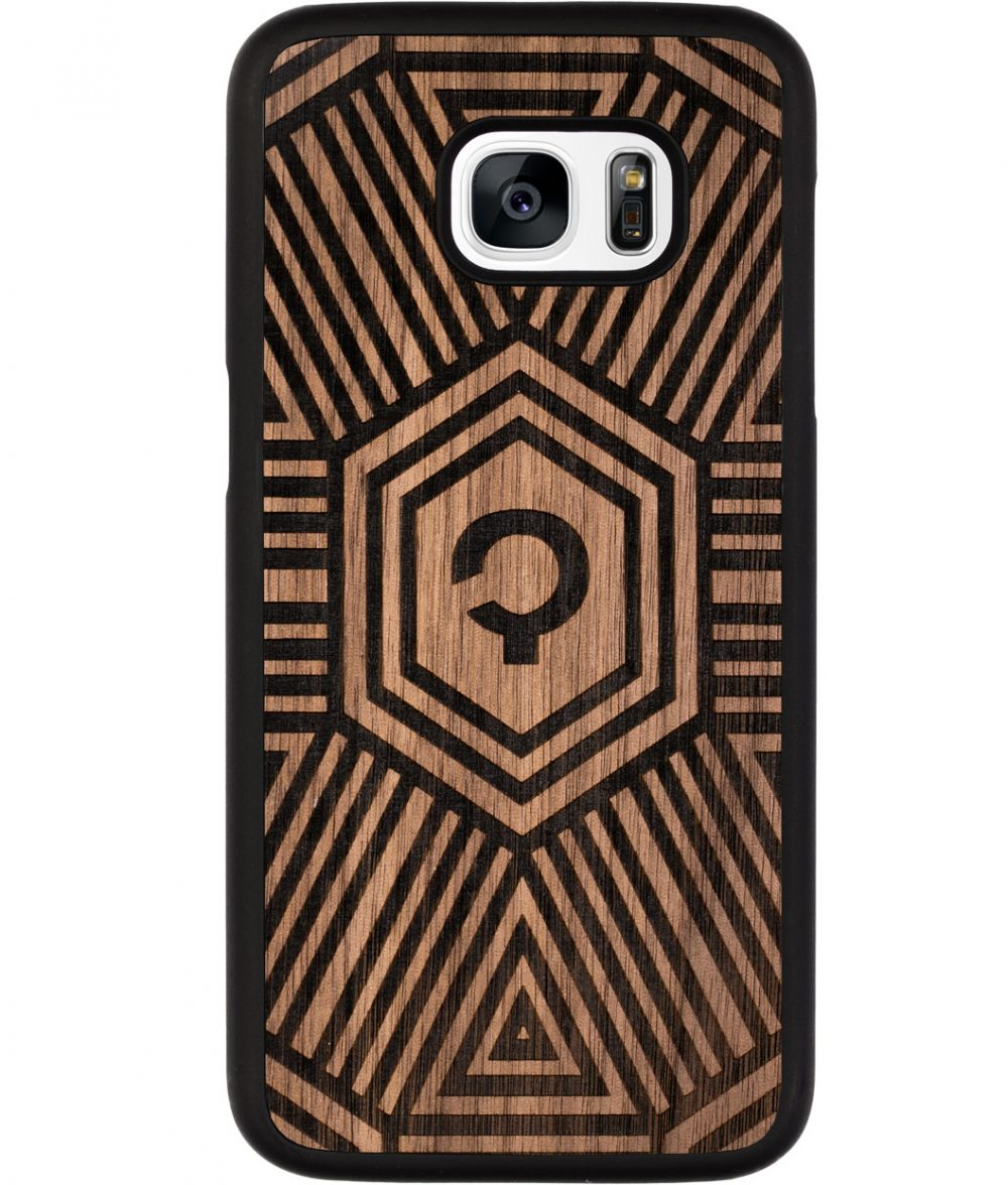 Wooden-case-samsung-galaxy-S5-Orzech-Geometrical