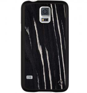 Wooden-case-samsung-galaxy-S5-Premium-Ebony
