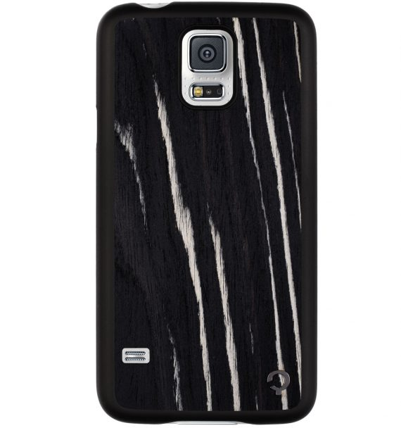 Wooden-case-samsung-galaxy-S5-Premium-Ebony