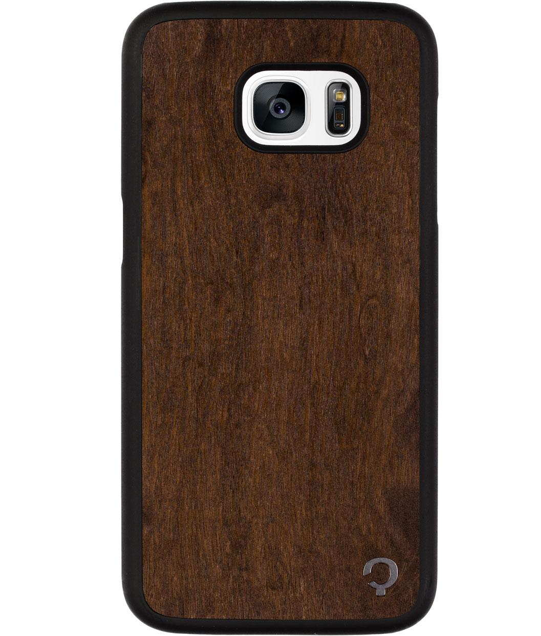 buy popular 41ea9 6ba1f Wooden Case - Samsung Galaxy S7 Edge - Premium - Imbuia