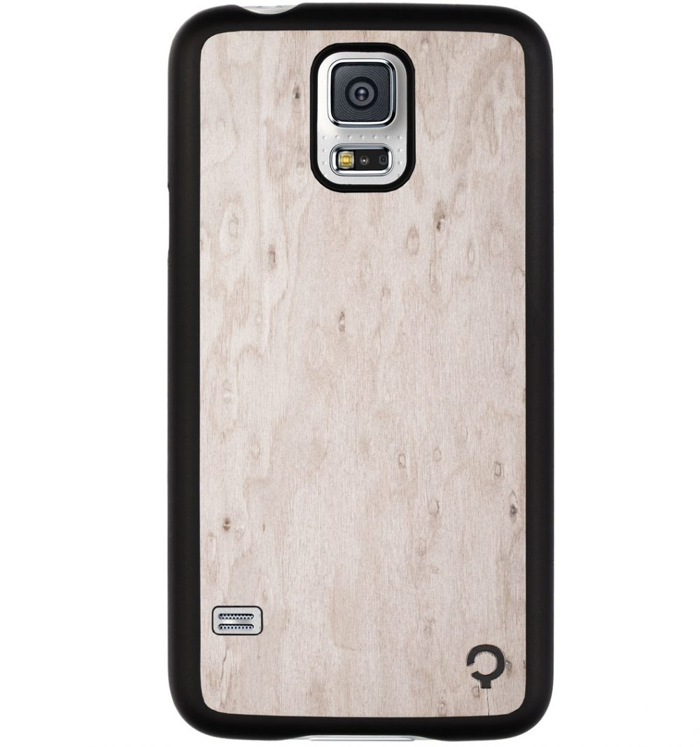 Wooden-case-samsung-galaxy-S5-Premium-Silver