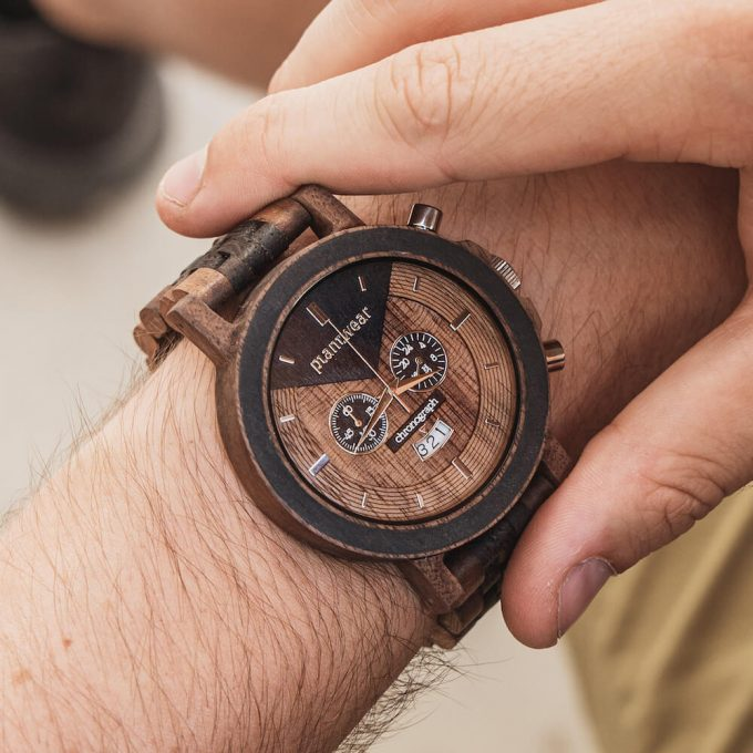 wooden watch select