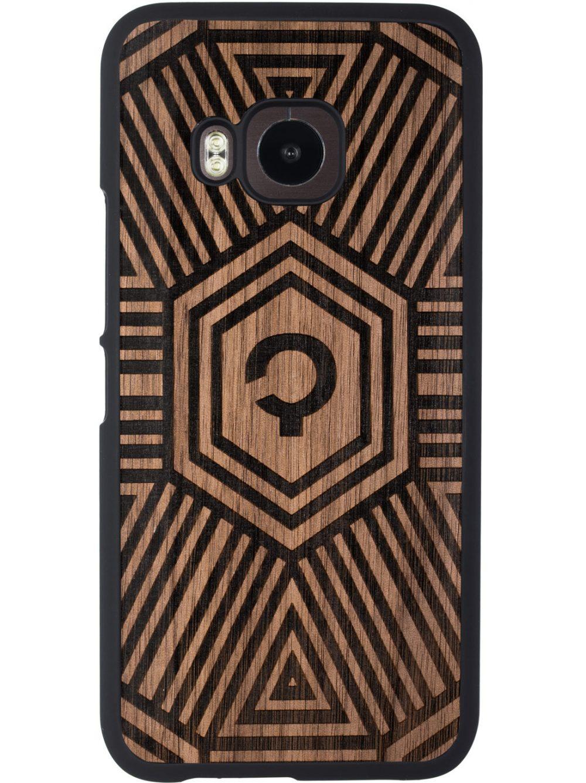 HTC_One_m9_Obudowa_Orzech_Geometrical