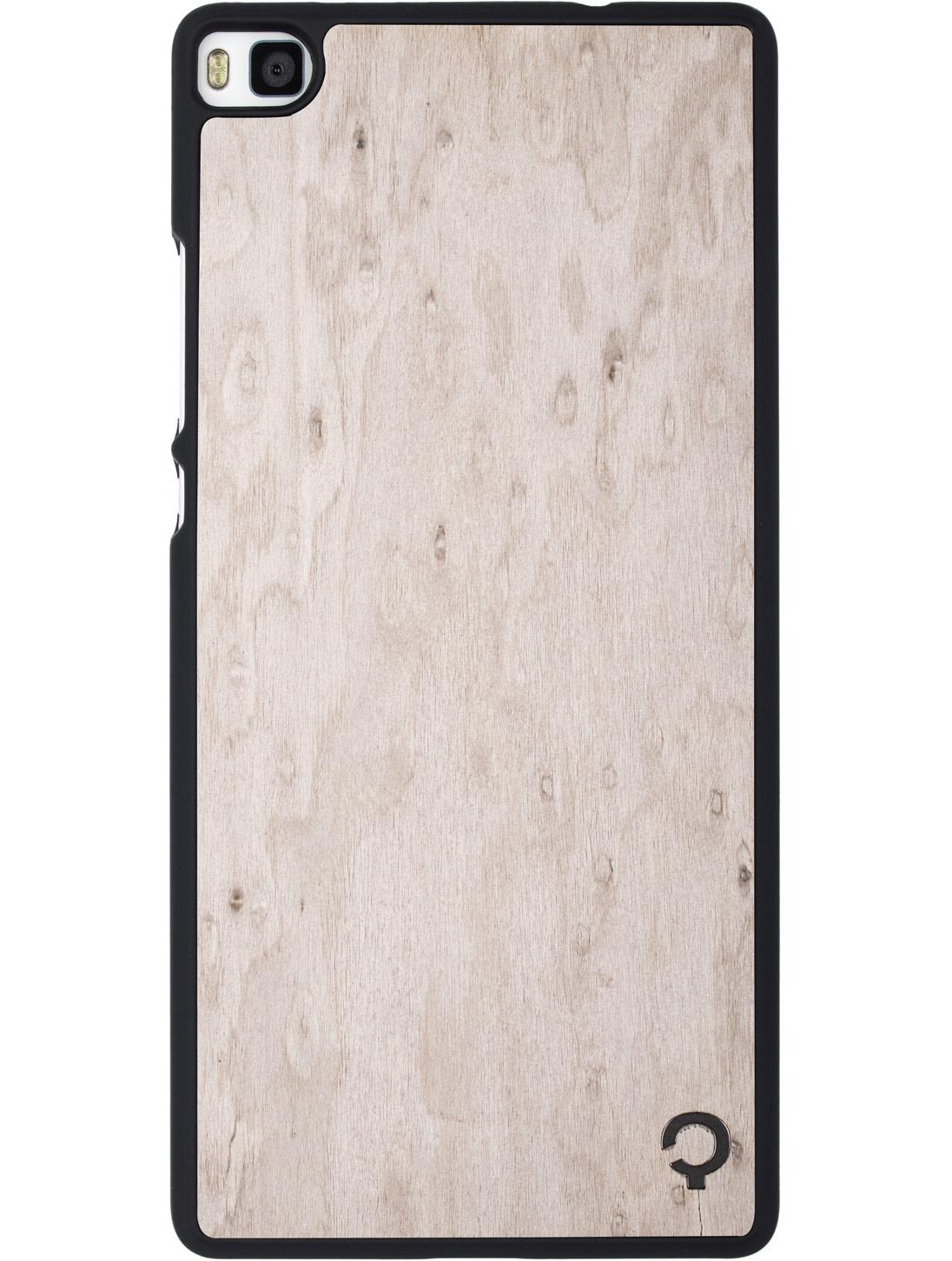 premium selection 498ff d288e Wooden Case - Huawei P8 - Premium - Silver