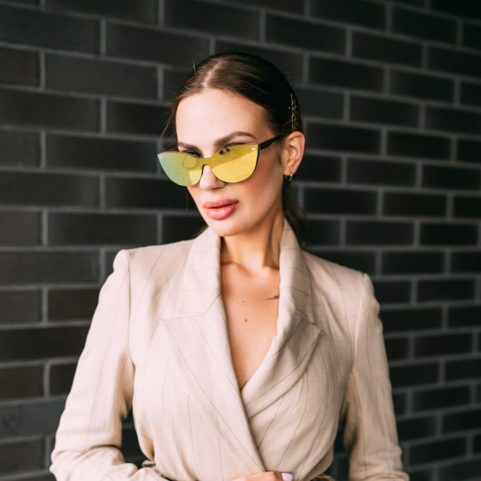 mirror-coated wooden sunglasses, wooden sunglasses