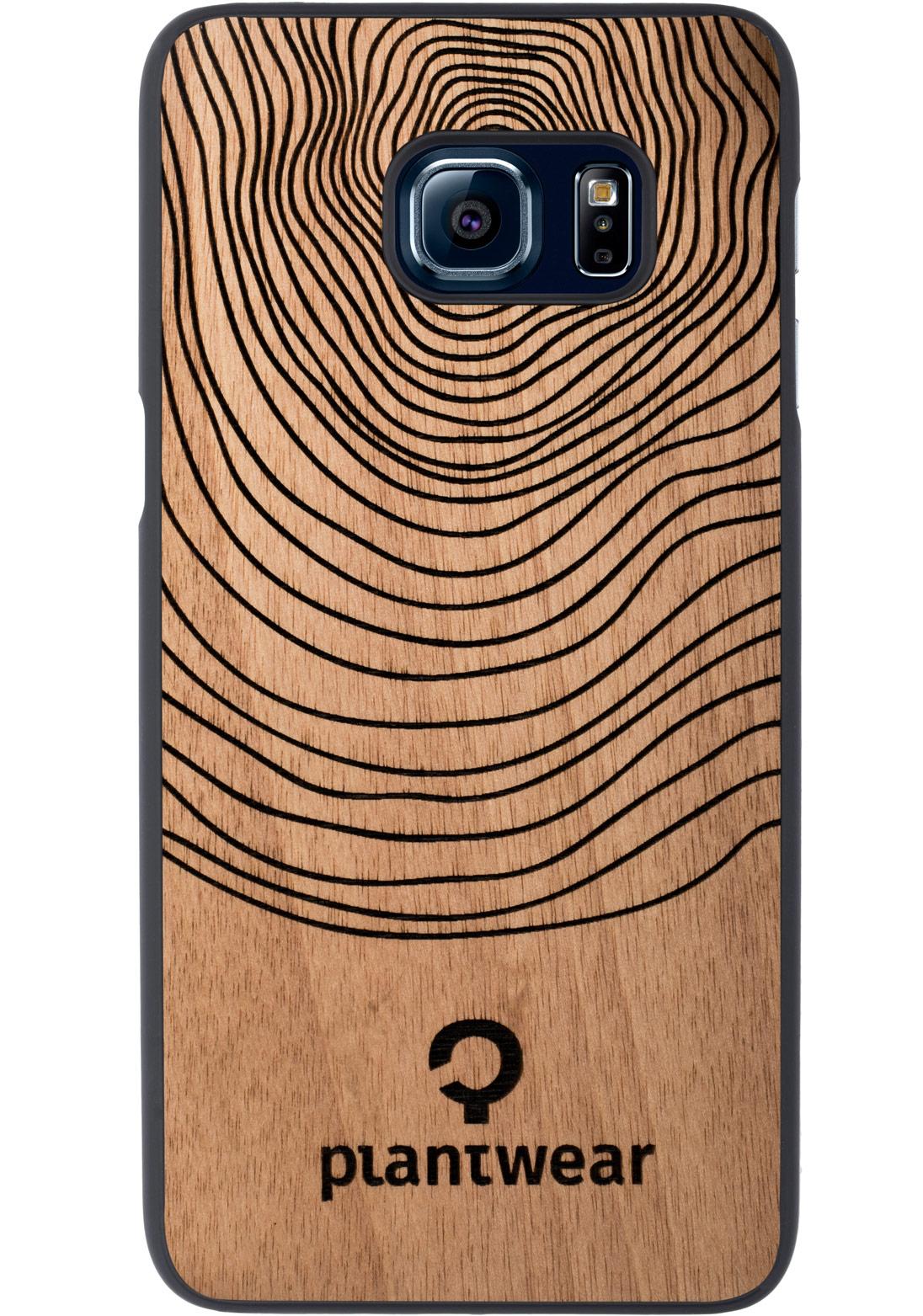 huge discount 98e1e 3e452 Wooden Case - Samsung Galaxy S6 EDGE Plus - Aniegre - Stamp
