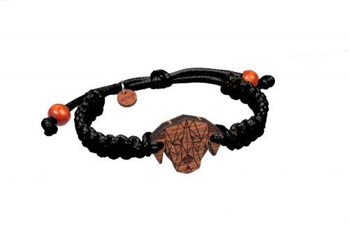 dog wooden bracelet