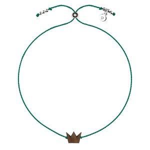 happiness bracelet crown