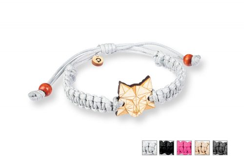 wolf bracelet, Plantwear bracelet, braided bracelet