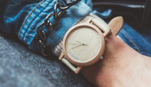 wooden watch maple
