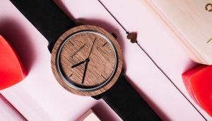wooden watch walnut