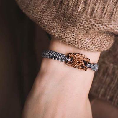 wooden bracelet camera