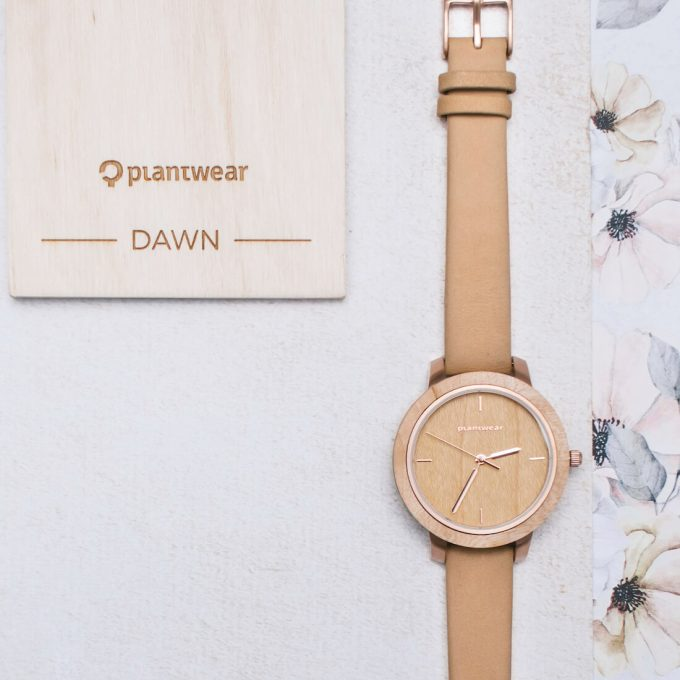 wooden watch Plantwear fusion maple
