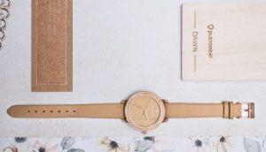 wooden watch fusion dawn maple