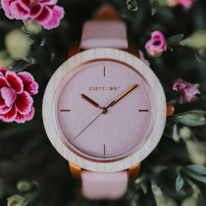 wooden watch fusion aurora