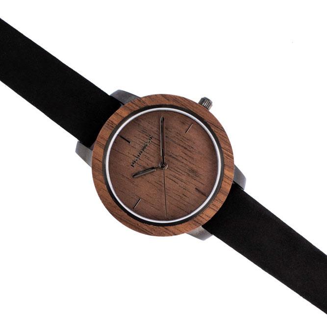 wooden watch fusion dusk mini