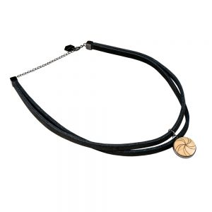 leather choker air