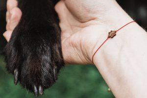 wooden happiness bracelet