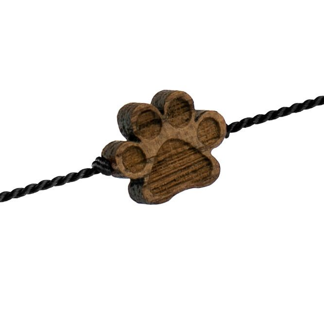 wooden happiness bracelet