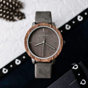 wooden watch fusion fog