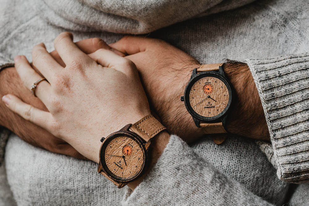 wooden watch pure