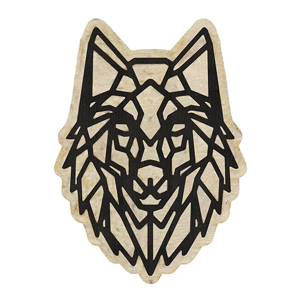 wooden pin wolf