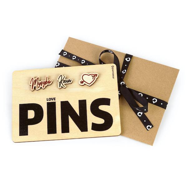 wooden pins