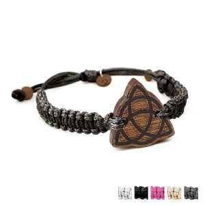 wooden bracelet celtic knot