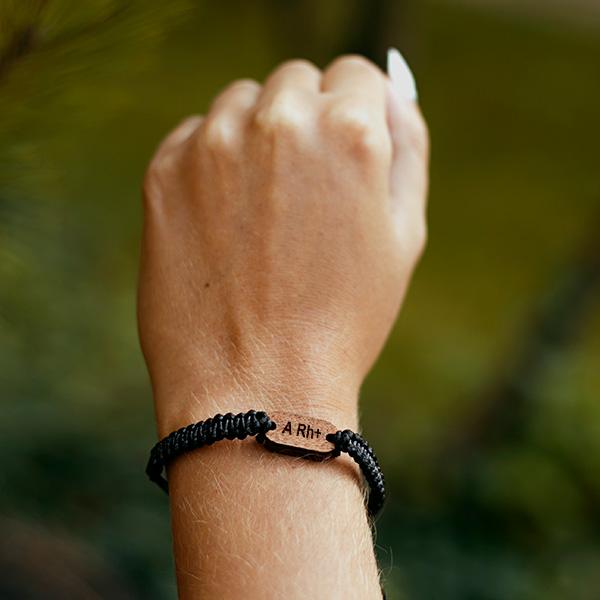 bracelet blood type