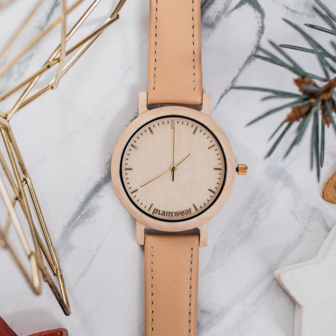 wooden watch lark series
