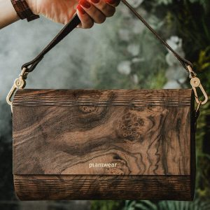 wooden bag burr walnut