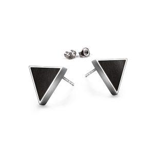 stud earrigns triangle