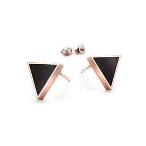 stud earrigns triangle