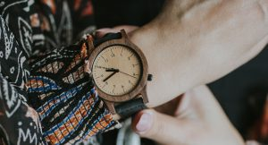 heritage series wooden watch