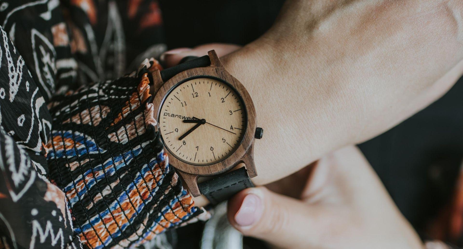 heritage series wooden watch