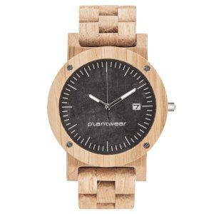 wooden watch raw oak
