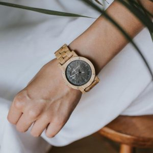 wooden watch raw oak