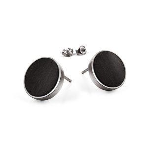 stud earrings circle
