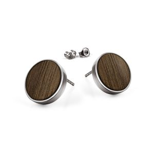 stud earrings circle