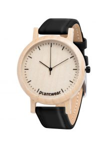 wooden watch lark slim